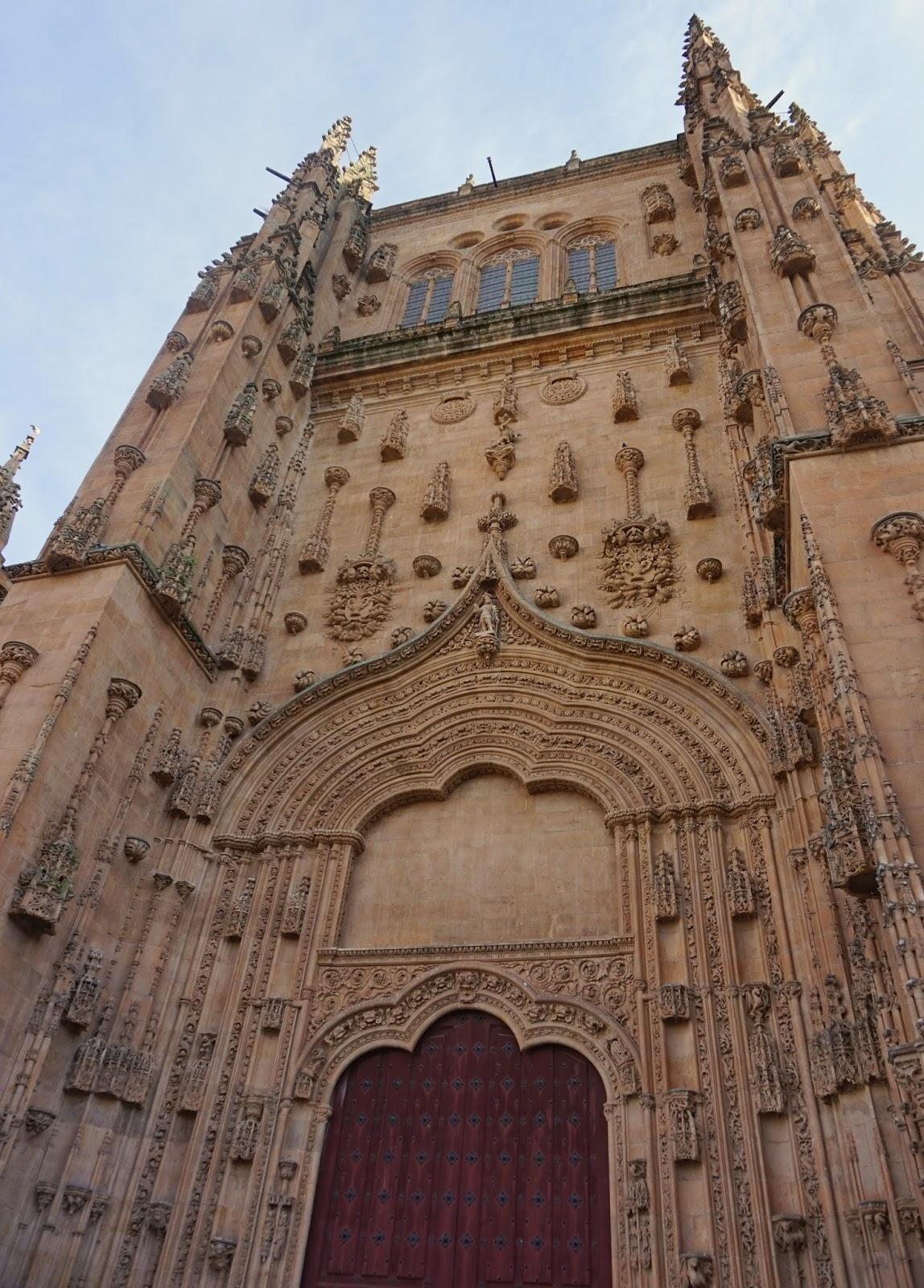 Fachada de la Catedral de Salamanca