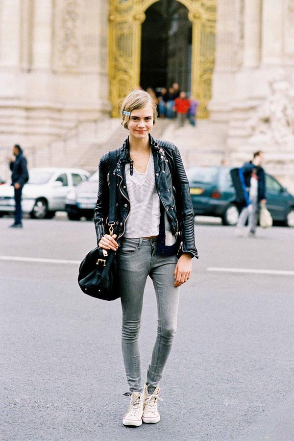 Vanessa Jackman Paris Fashion Week Aw 2012 Cara
