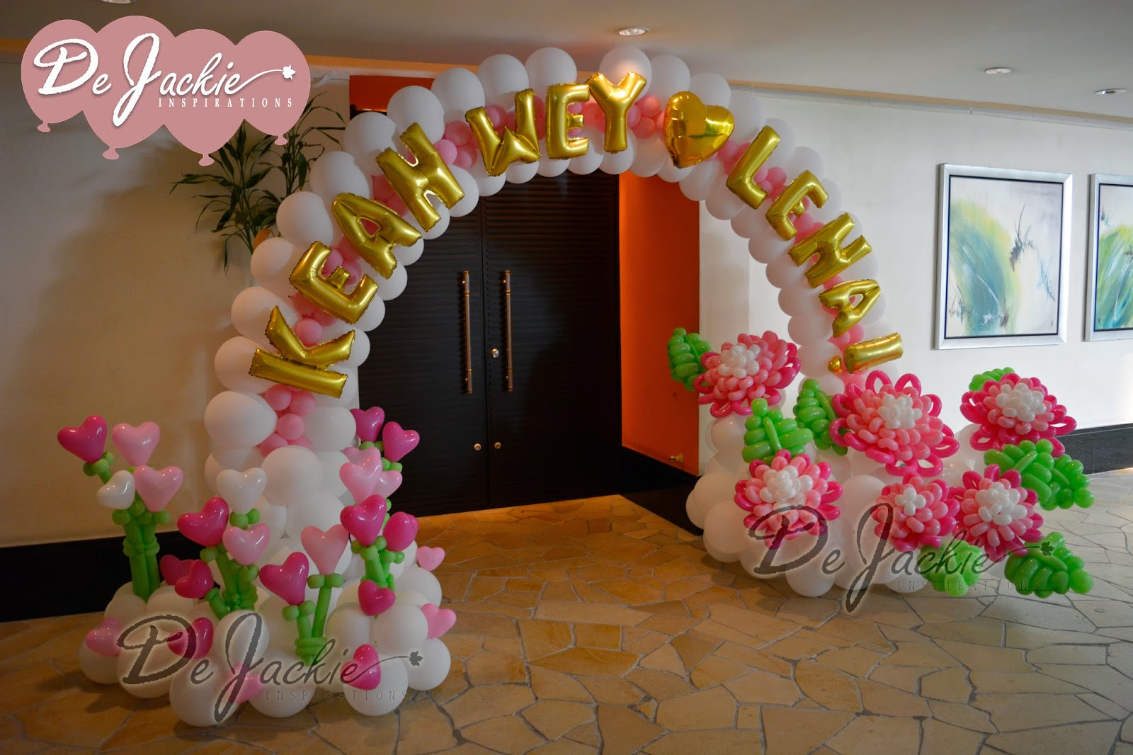 One image balloon decor penang