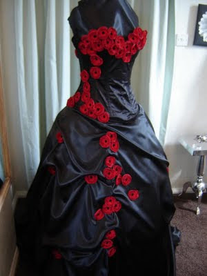 Pretty Ideas of Gothic Wedding Dresses Gowns