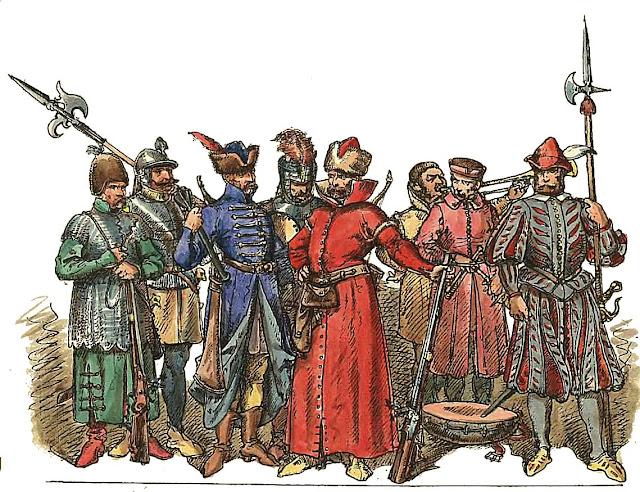 Piechota_polska_1548_1572_Jan_Matejko