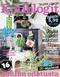 JOULUSTAILAUS YSTÄVÄNI MÖKILTÄ , KOTIBLOGIT 5/ 2016