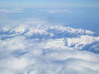 Fond d'écran Mars 2012 - Survol des Alpes (photo déc. 2010)