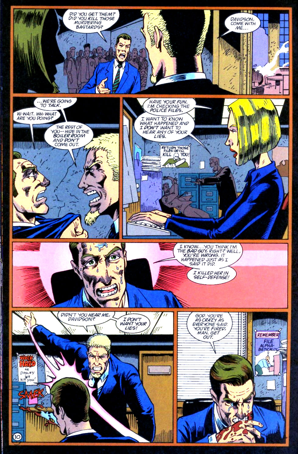 Deathstroke (1991) Issue #59 #64 - English 11