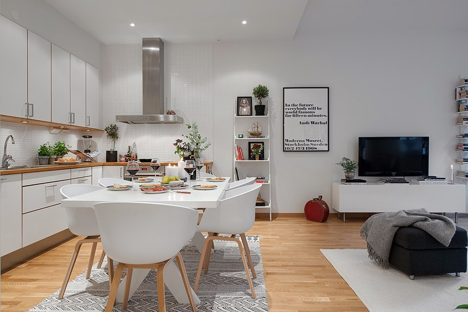 Decoraci n f cil un apartamento con decoracion estilo nordico - Blog decoracion de interiores ...