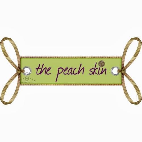 The peach skin
