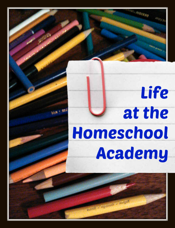 Life at the Homeschool Academy, a little peak inside what our day looks like at Great Peace Academy