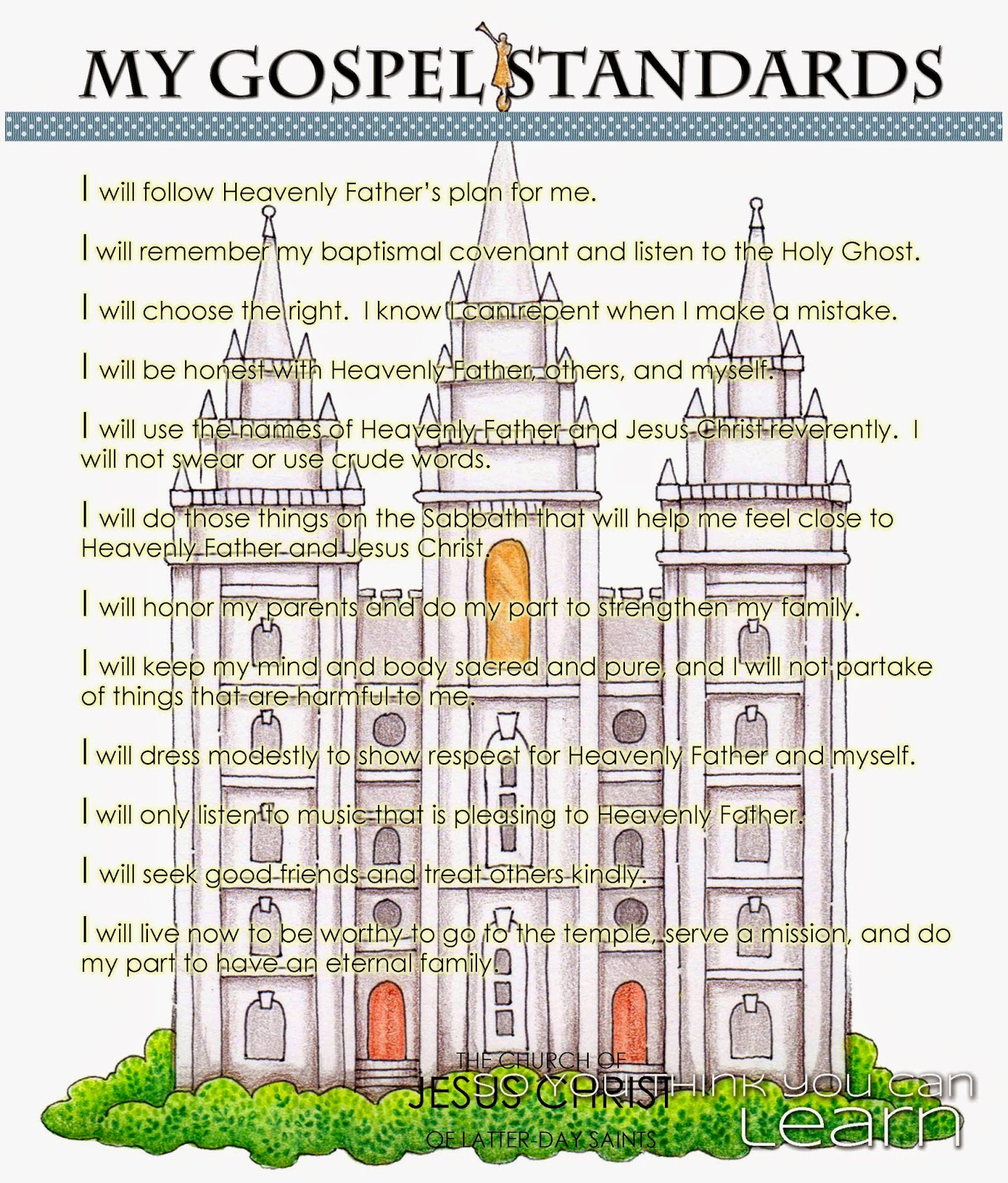 So you think you can learn primary activity missionary training my gospel standards ogden temple in adobe acrobatpdf pronofoot35fo Gallery
