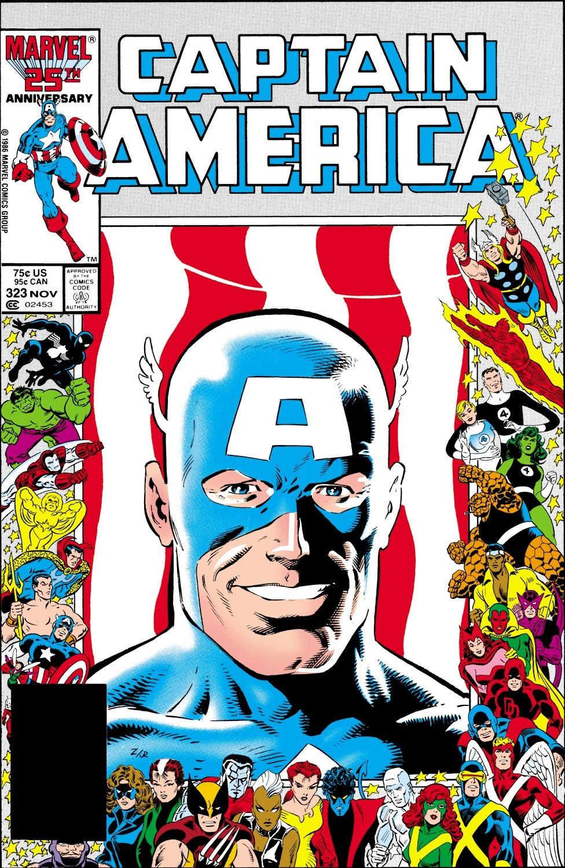 Captain America (1968) Issue #323 #251 - English 1