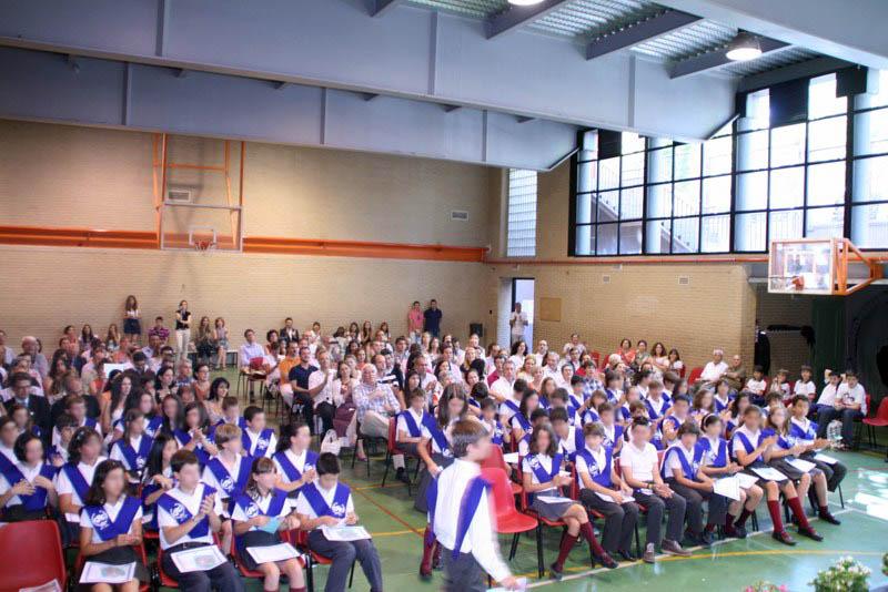 Colegio Ramón y Cajal: Graduación de 6º de Primaria