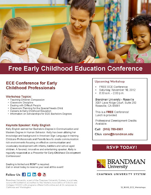 Free Early Childhood Education Conference