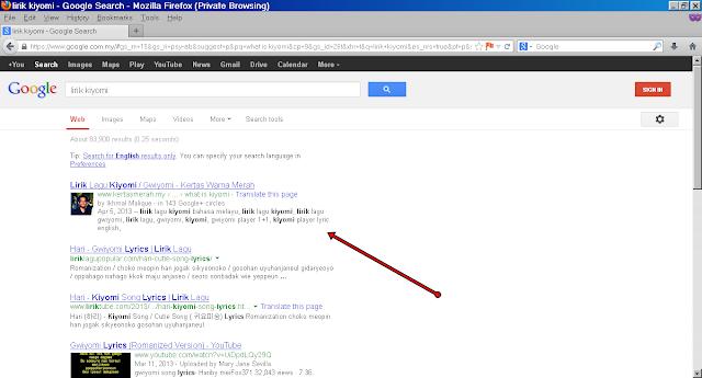 Cara aktifkan search description di blog blogspot
