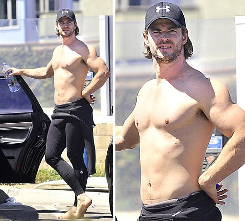 chris hemsworth workout and diet secret muscle world