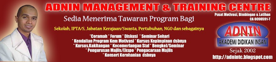 ADNIN MANAGEMENT &amp; TRAINING CENTRE