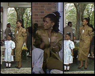 Cosby Show Huxtable fashion blog 80s sitcom Tempestt Bledsoe Vanessa
