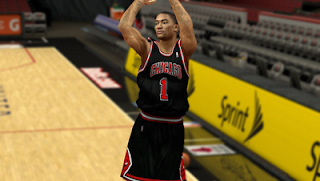 NBA 2K13 Chicago Bulls Alternate Jersey