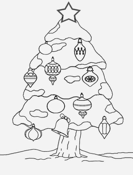 Funny Santa Claus Coloring Pages