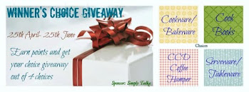 Winner's Choice giveaway by Preeti