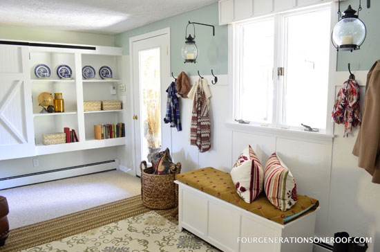 Iheart Organizing Reader Space A Multipurpose Mudroom