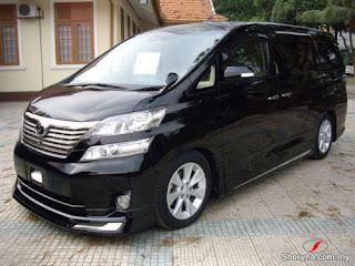 Sewa Mobil Toyota Vellfire Semarang on Daftar Tarif Sewa Mobil Mewah Di Yogyakarta