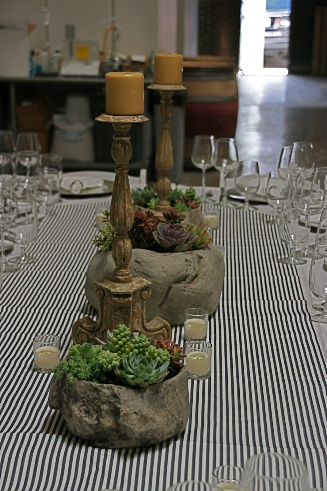 Vignette Design A Succulent Tablescape
