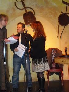 Con Alfonso Levi e Hibernia