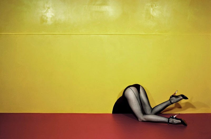 El fotógrafo de moda Guy Bourdin
