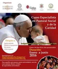 Curso Especialista Universitario Pastoral Social y de la Caridad