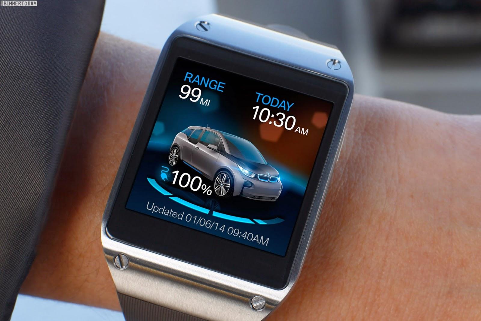 Smartwatch, BMW i3