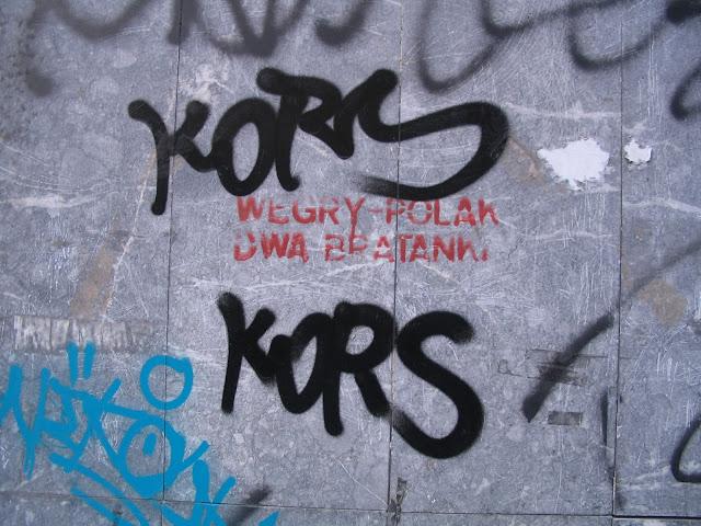 wegry-polak dwa bratanki, Rákoczi út, Budapest, street art, Magyarország, Hungary, VIII. kerület
