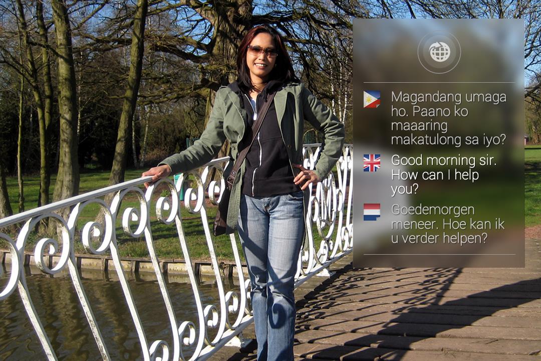 Vertalingen naar meerdere talen met Google Glass