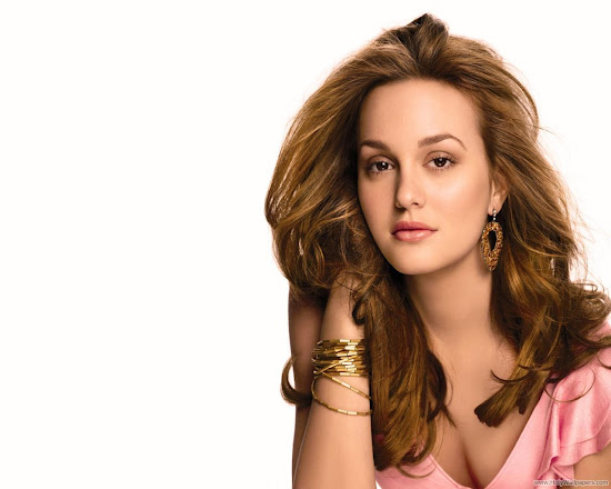Leighton Meester Glamorous HD Wallpaper-1600x1200