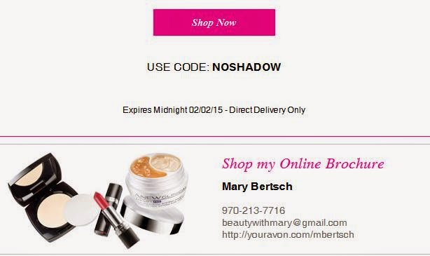 Avon Free Shipping for Ground Hog Day