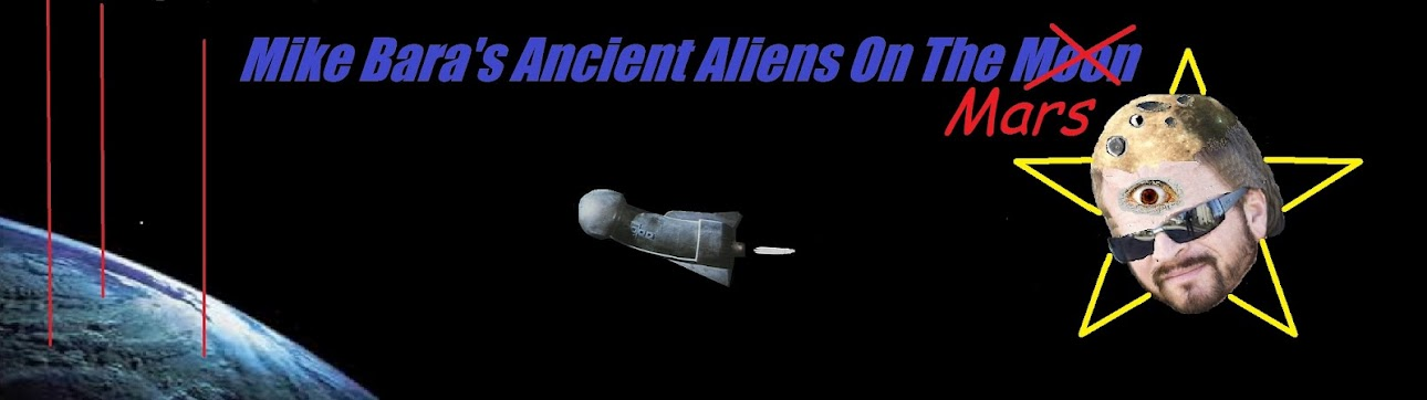 Mike Bara's  Ancient Aliens On Mars