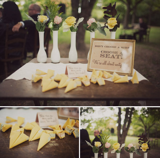 Jena's Journal: Kelsie's Vintage-country-chic Wedding