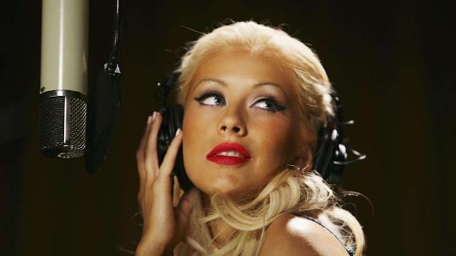 Christina Aguilera Recording