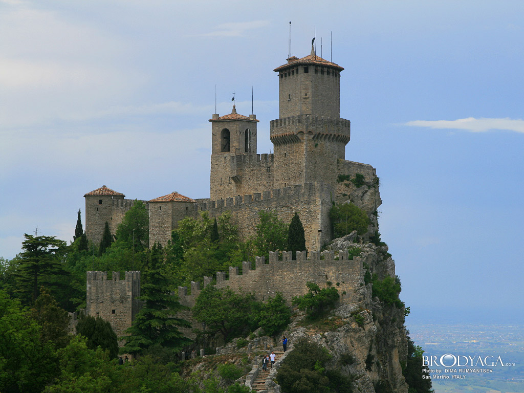 san marino San marino is the world's oldest republic and europe's third smallest state it lies 657&nbspm above sea level with spectacular views of the surrounding countryside and adriatic coast, and is situated only 10km from rimini.