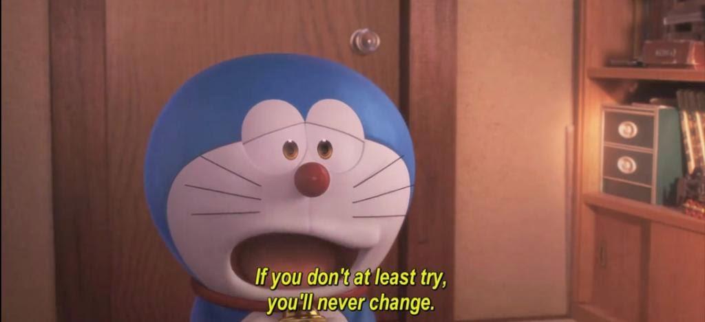Kata Kata Bijak Doraemon dalam Bahasa Inggris dan Artinya