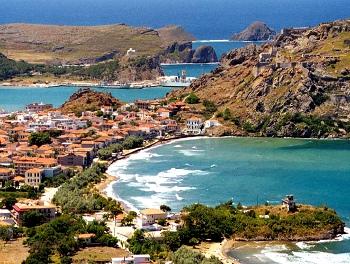 Vistas de Lemnos - Islas Griegas
