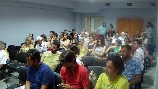 Προεκλογική σύσκεψη μελών και φίλων του ΚΚΕ στην Αλεξανδρούπολη