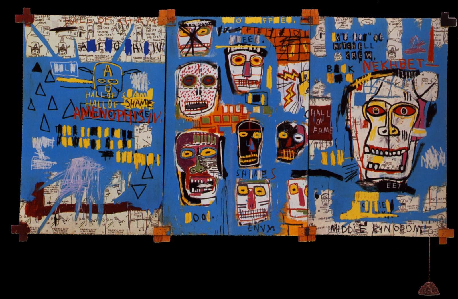 Jean Michel Basquiat Paintings For Sale