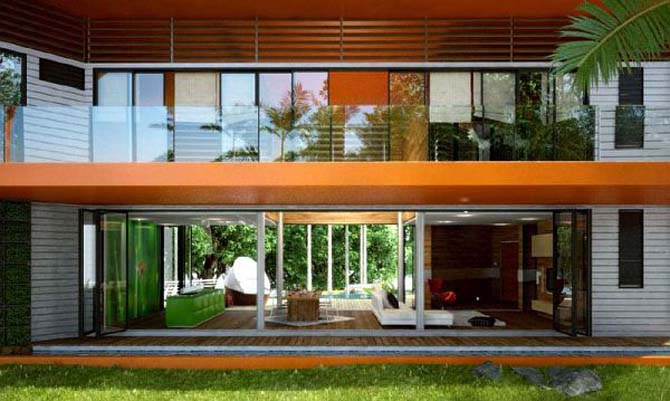 Modern modular malaysia eco house design pictures modern for Home design ideas malaysia