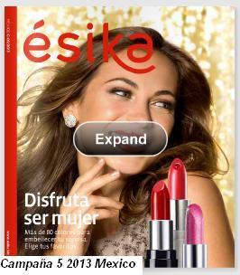 catalogo esika campaña 5 2013 mx