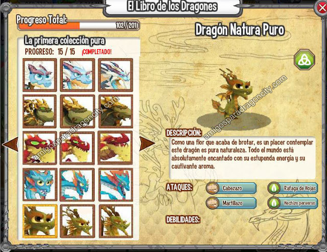 imagen del nuevo dragon natura puro