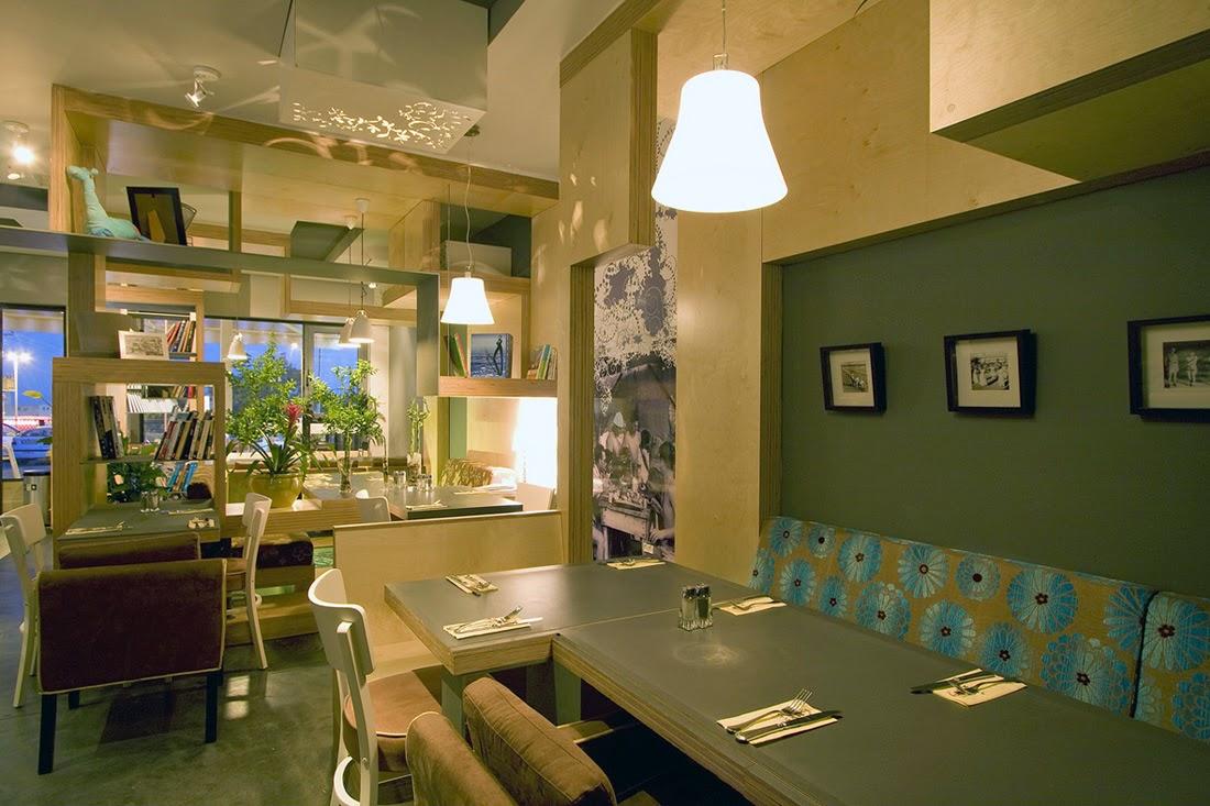 modern minimalist interior design for a cafe - home design