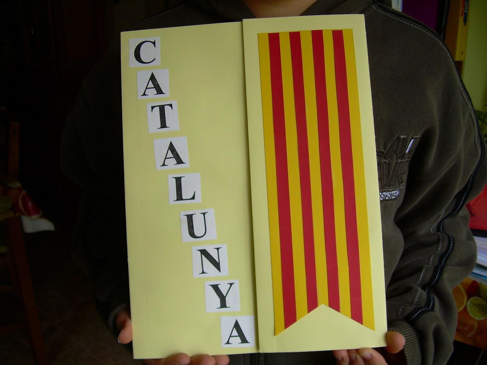 Resultat d'imatges de lapbook catalunya