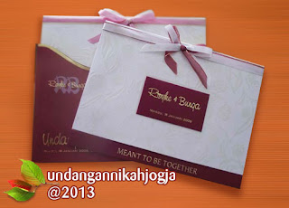 undangan pernikahan hardcover mewah eksklusif