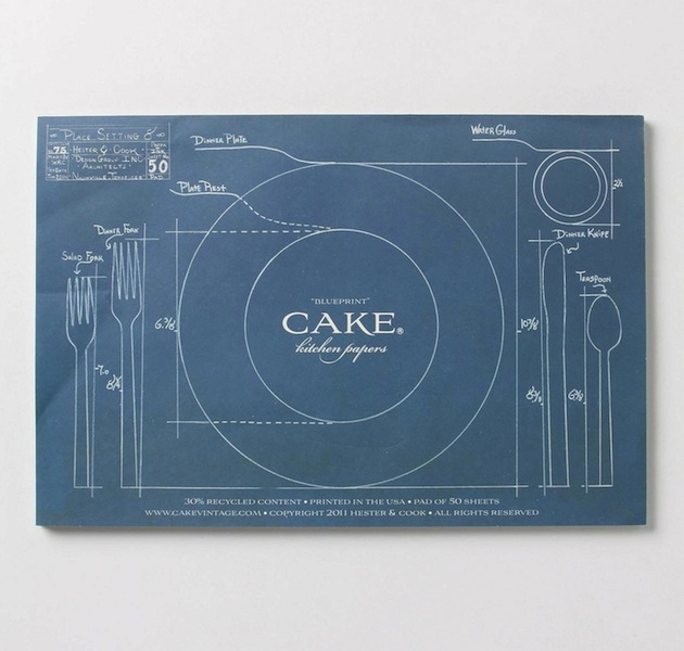 Paper Placemats By Cake
