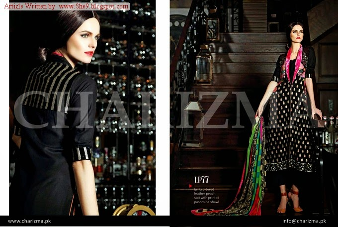 Charizma Fall / Winter Dress Collection 2014 Vol-1