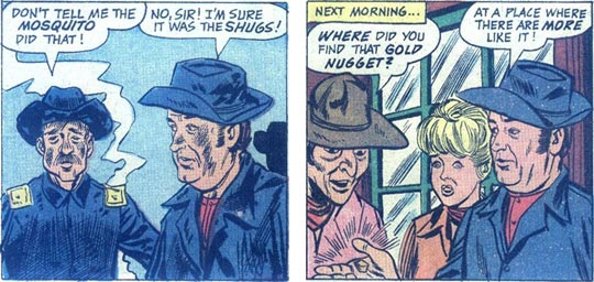 F-Troop 6 panels of Sgt. O'Rourke